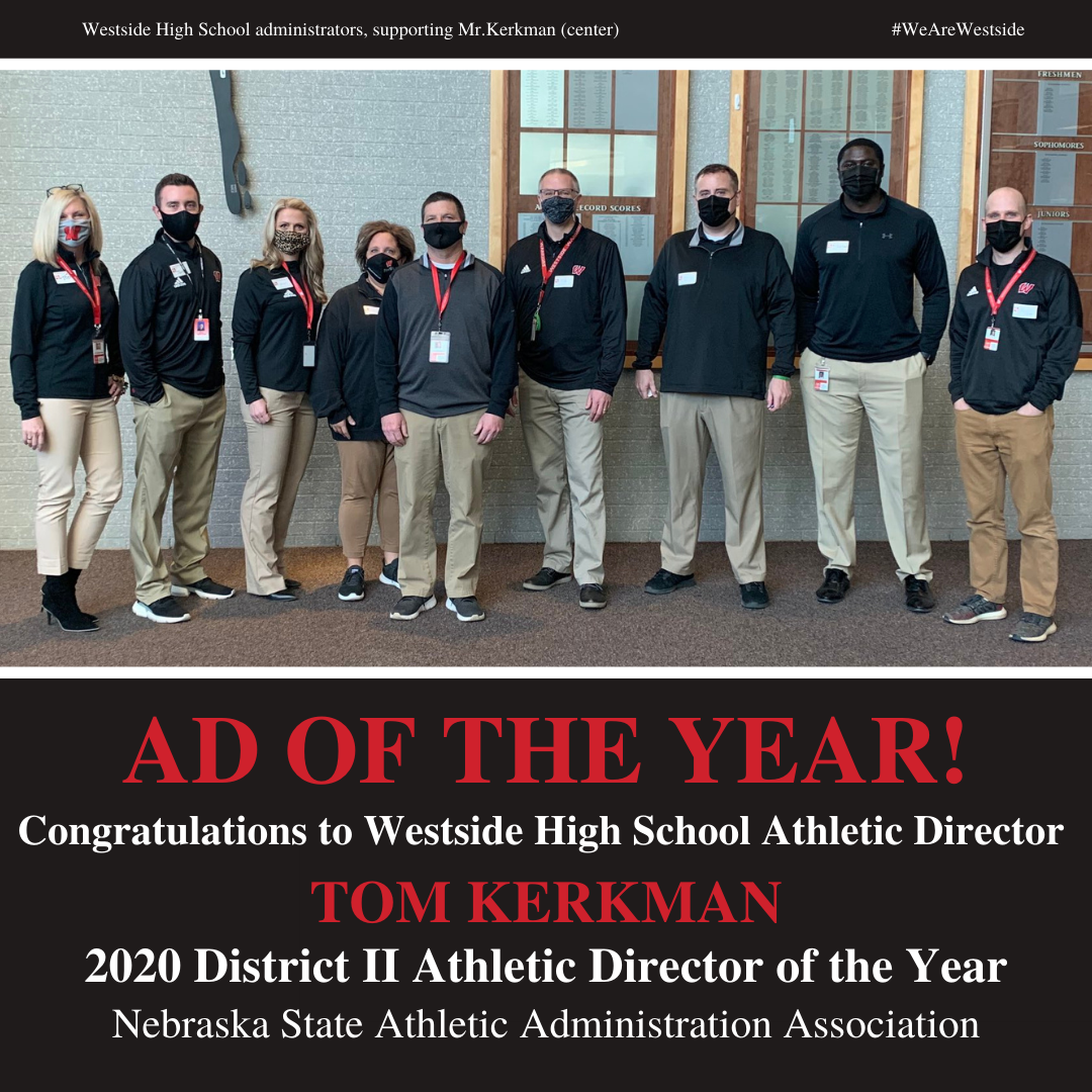 Westside's Kerkman Named Athletic Director of the Year