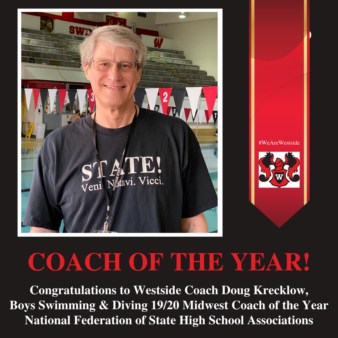 Westside's Krecklow Named Midwest Coach of the Year