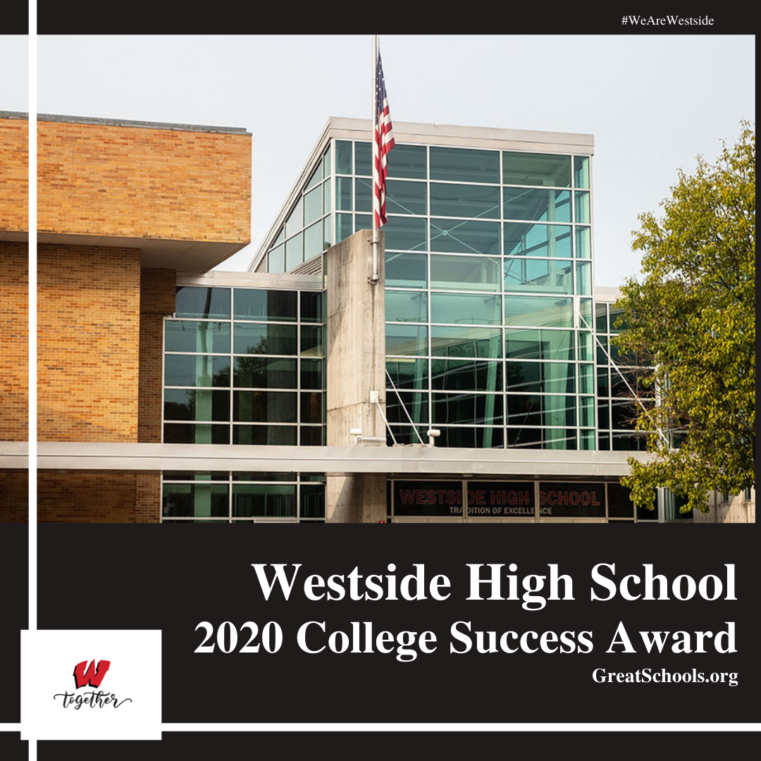 Westside High Earns 2020 National Award from Great Schools