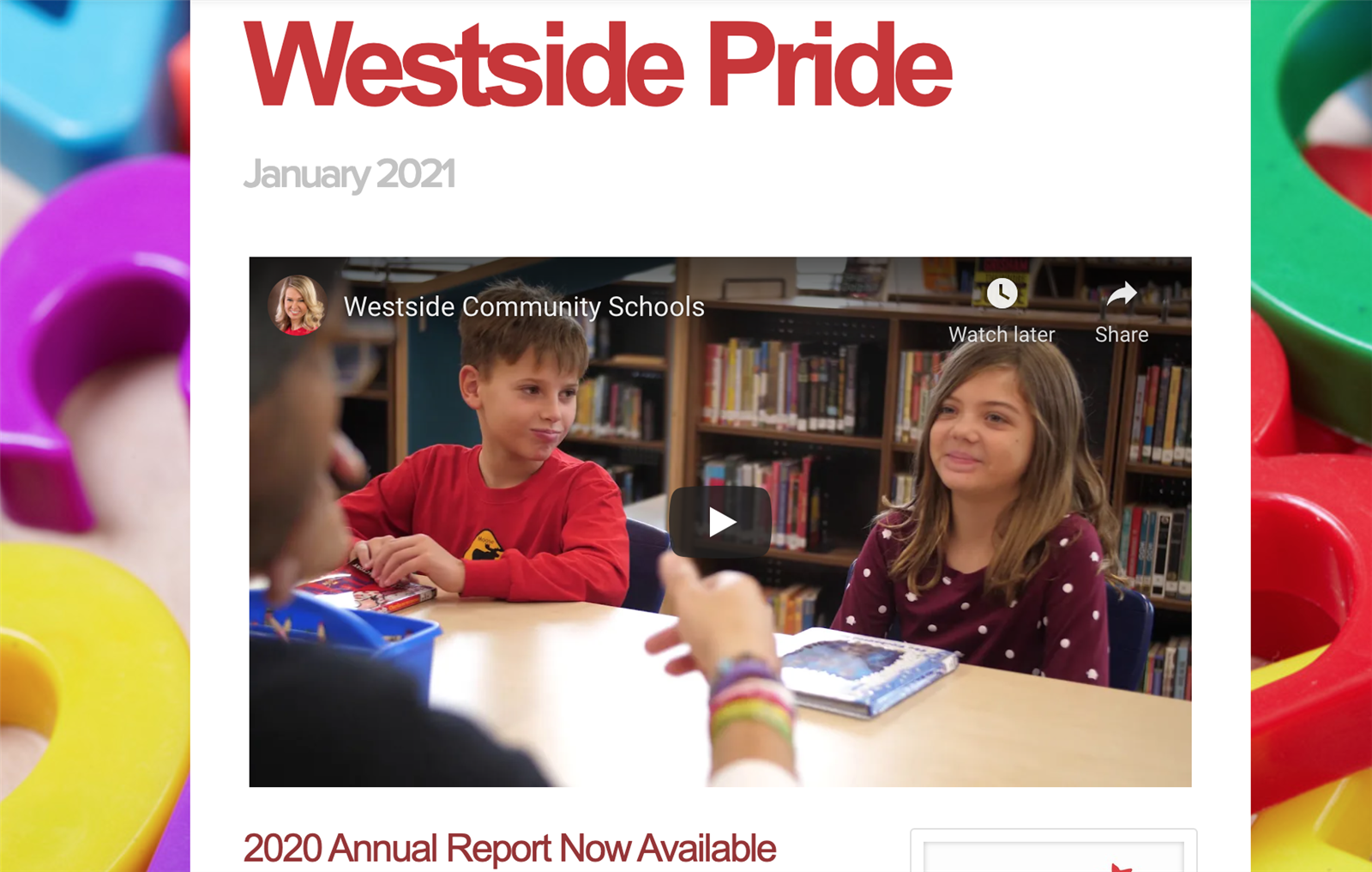 March 26, 2021 | New Westside Pride District Newsletter Now Available